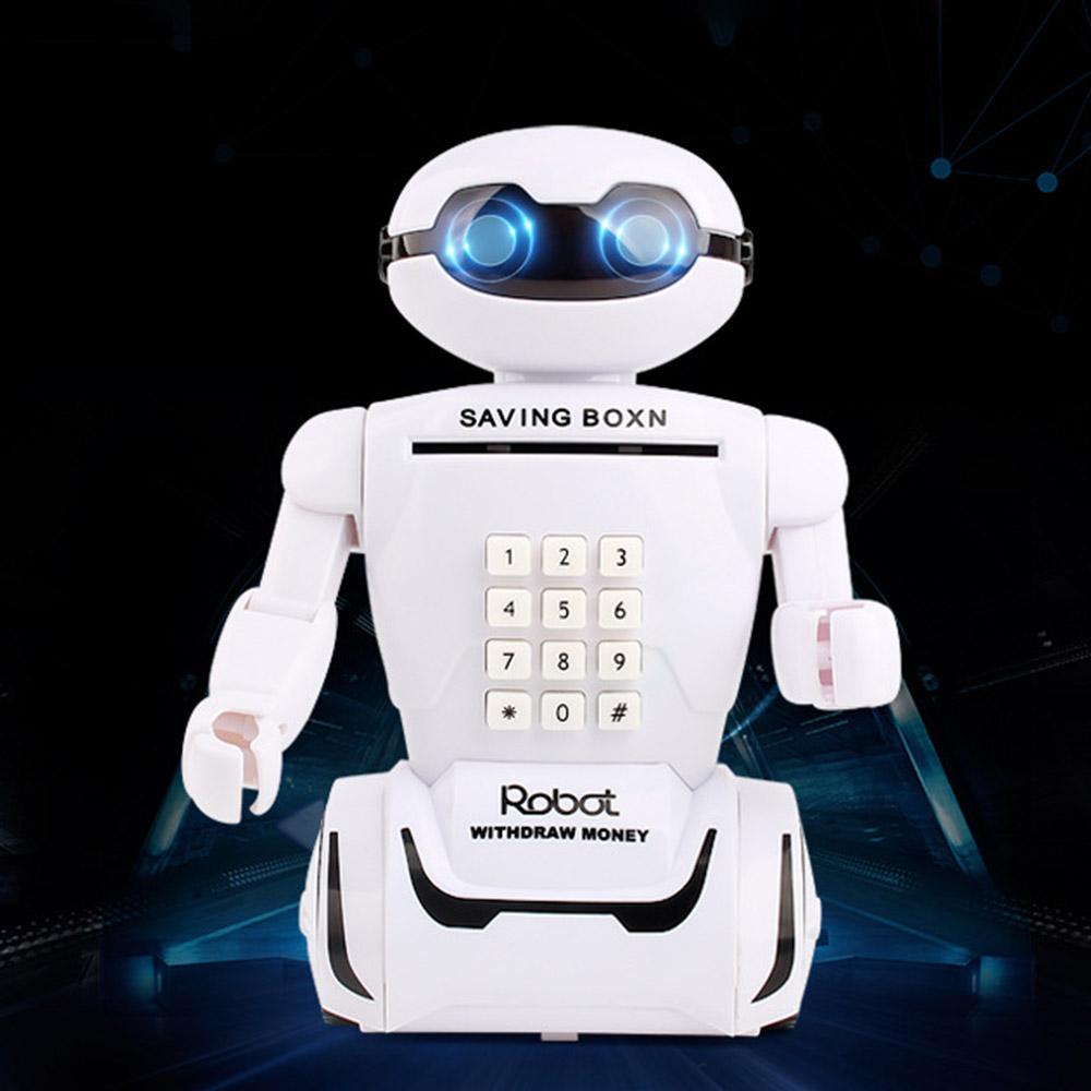 Игрушка детская Robot PIGGY BANK   Детская копилка сейф с кодовым замком