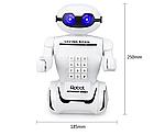 Іграшка дитяча Robot PIGGY BANK | Дитяча скарбничка сейф з кодовим замком, фото 2
