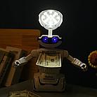 Іграшка дитяча Robot PIGGY BANK | Дитяча скарбничка сейф з кодовим замком, фото 9