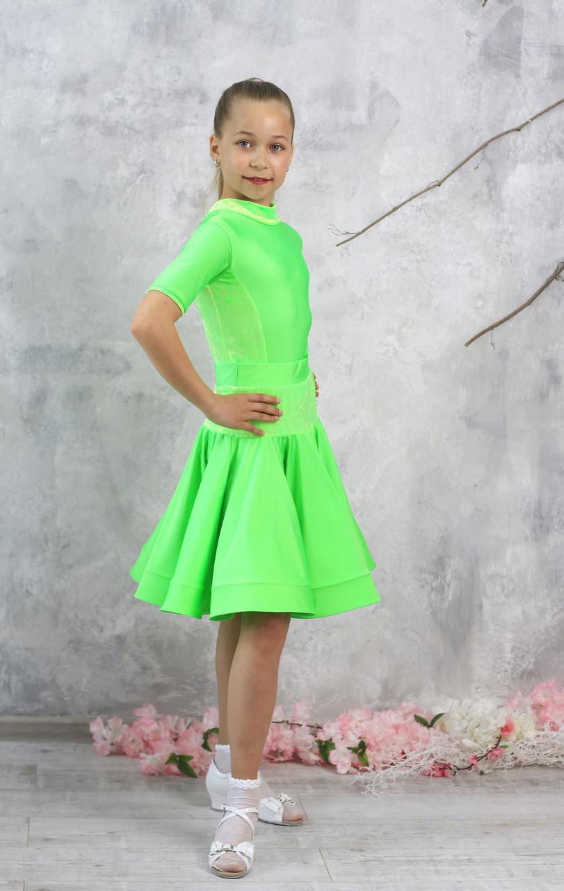 Рейтинговое платье Бейсик для бальных танцев Sevenstore 9156