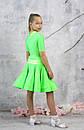 Рейтинговое платье Бейсик для бальных танцев Sevenstore 9156, фото 2