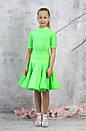 Рейтинговое платье Бейсик для бальных танцев Sevenstore 9156, фото 3