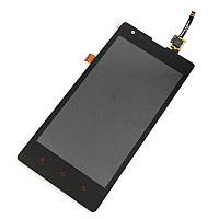 Дисплейный модуль Xiaomi Redmi 1s (С рамкой, черный)
