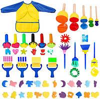 Материалы для творчества и рукоделия, наклейки, глазки, блестки, пуговицы, набор