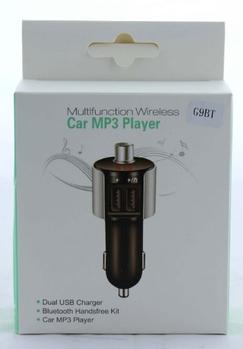 FM трансмиттеры автомобильные / fm G9, 2 usb + громкая связь, Bluetooth