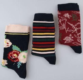 Набір 3 шт. Шкарпетки жіночі демісезонні бавовняні Bross