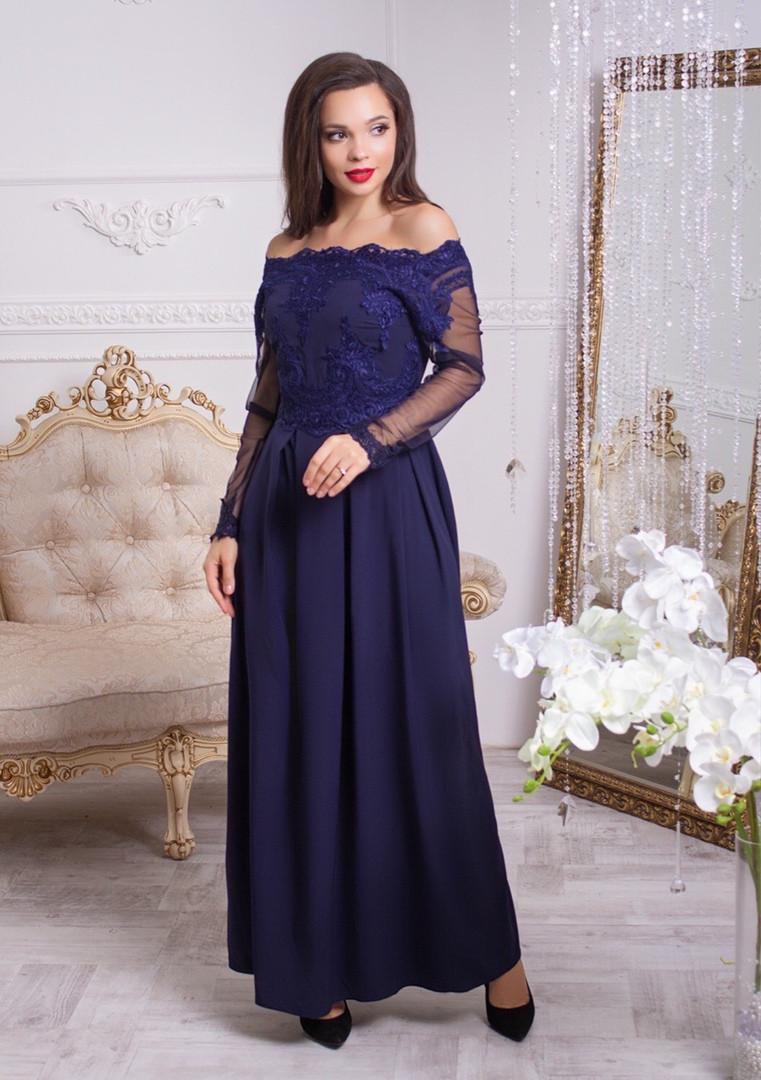 Жіноча довга сукня, 42-44