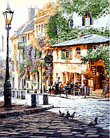 Рисование по номерам 40×50 см. Италия Летнее кафе, фото 1