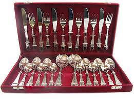 Кухонные ножи и подставки Набор столовых приборов 26 предметов А-плюс