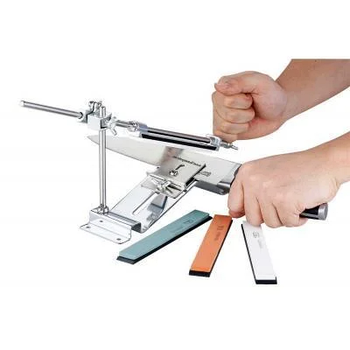 Точило для ножей и ножниц Ruixin Touch Pro Steel + камни 4шт