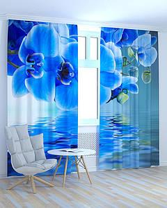 Фотошторы орхідея і вода