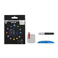 Захисне скло UV для Apple Watch 38mm (0.25 мм, 3D, прозоре) в комплекті з UV клеєм і лампою