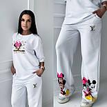 Стильний костюм жіночий спортивний з футболкою, фото 3