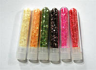 Декор для ногтей ракушки в колбе 5 гр YRE DK-17, маникюр с ракушками