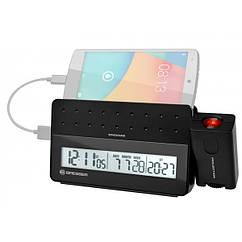 Часы проекционные Bresser MyTime Pro black