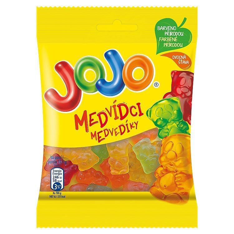 Желейні цукерки JOJO Medvidci асорті 80 г