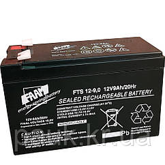 Стаціонарна акумуляторна батарея FAAM FTS 12-9.0, свинцево-кислотна акумуляторна батарея