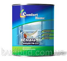 Емаль червона ПФ 115 Comfort Home  2.8 кг