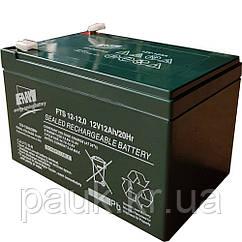 Герметична акумуляторна батарея FAAM FTS 12-12, свинцево-кислотна стаціонарна акумуляторна батарея