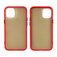 Чехол Totu Gingle series для Apple iPhone 12 Mini красный