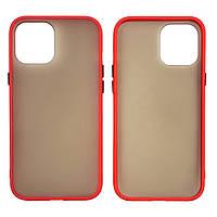 Чехол Totu Gingle series для Apple iPhone 12 Pro Max красный