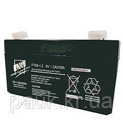 Акумуляторна батарея FAAM FTS 6-1.2, свинцево-кислотна стаціонарна акумуляторна батарея