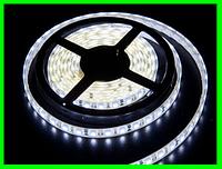 LED Ленты (3528) White длинна 5м + Блок Питания (ВидеоОбзор)
