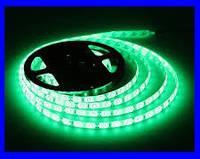 LED Ленты (3528) Green - Зелёный длинна 5м Лед (ВидеоОбзор)