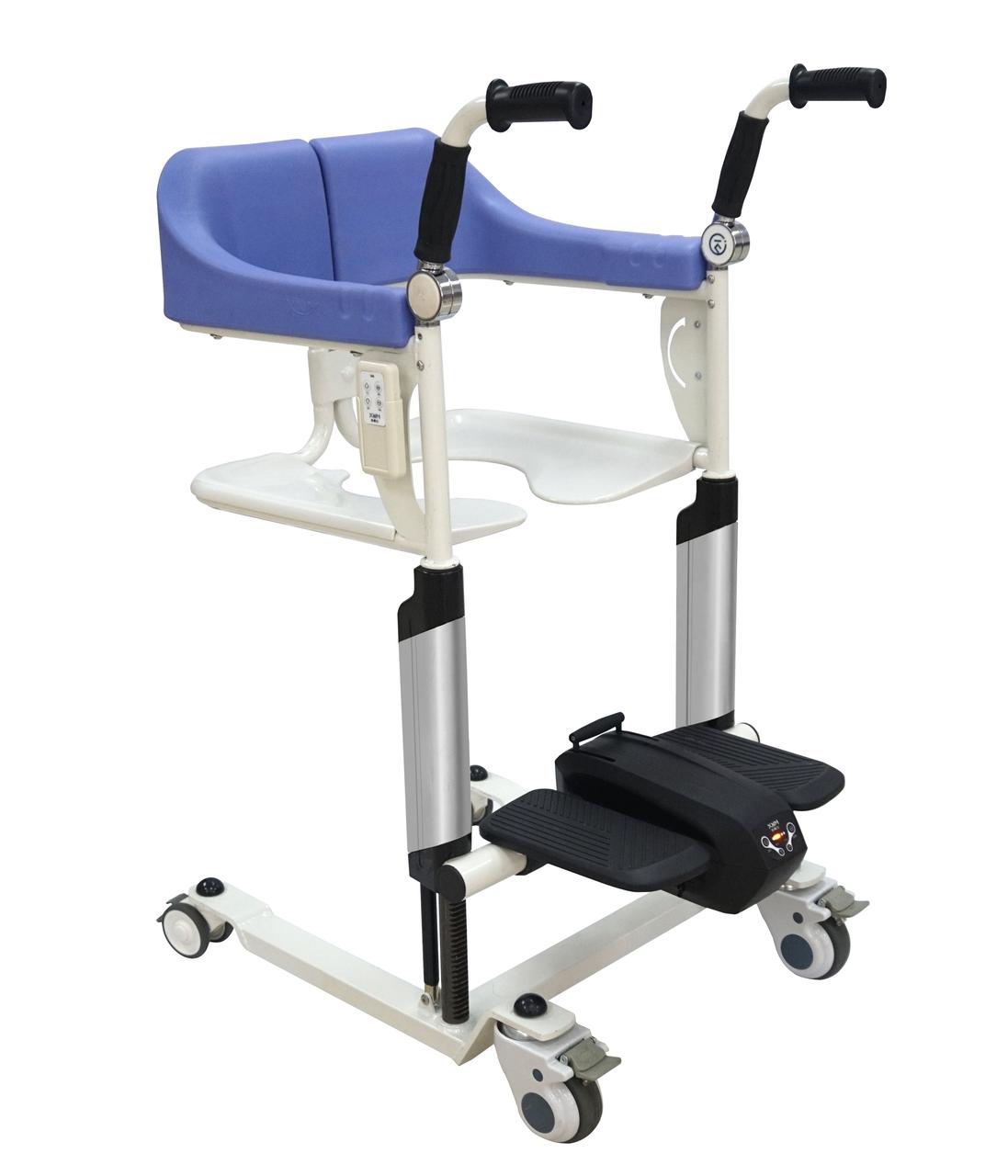 Транспортувальне крісло-коляска для інвалідів MIRID MKX-02B (з електродвигуном)