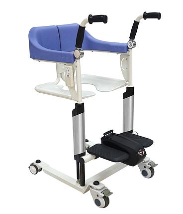 Транспортувальне крісло-коляска для інвалідів MIRID MKX-02B (з електродвигуном), фото 2