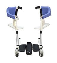 Транспортировочное кресло-коляска для инвалидов MIRID MKX-02B (с электродвигателем), фото 3