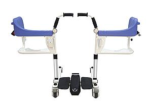 Транспортировочное кресло-коляска для инвалидов MIRID MKX-02B (с электродвигателем), фото 2