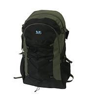 Рыбацкий рюкзак VA 55 л Зеленый T-09 Рюкзак для охоты и рыбалки для активного отдыха водонепроницаемый
