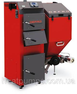 Котел твердотопливный с автоматической подачей топлива Defro Komfort EKO 25 квт