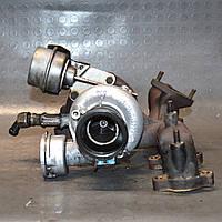 Турбина Audi A3 1.9 TDI 2000-2003 турбокомпрессор Ауди А3 038253016N KKK