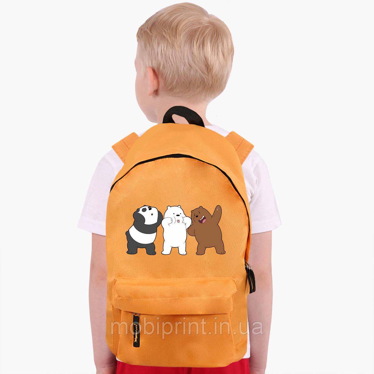 Детский рюкзак Вся правда о медведях (We Bare Bears) (9263-2667)
