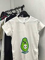 Футболки для беременных . Футболки с принтом , для беременных женщин . Одежда для беременных