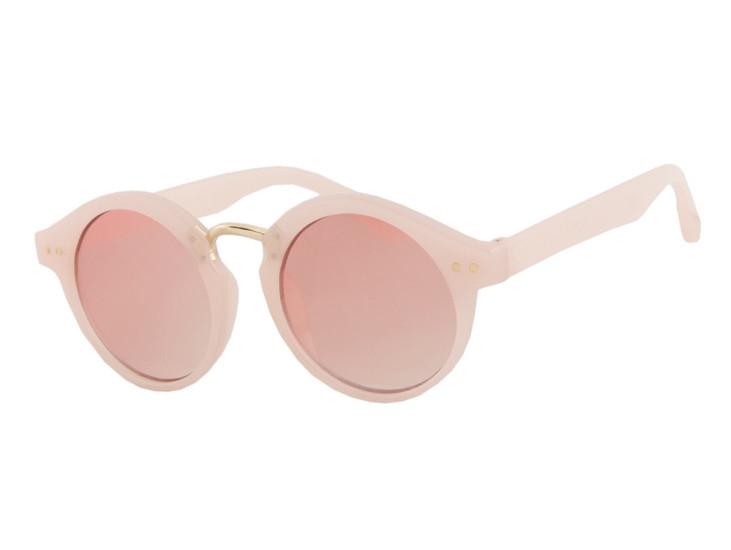 Детские солнцезащитные очки HM Retro для девочек розовые