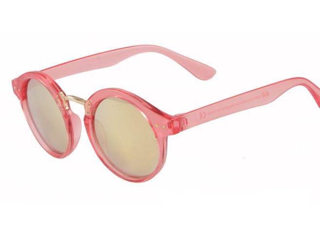 Дитячі сонцезахисні окуляри HM Retro для дівчаток червоні