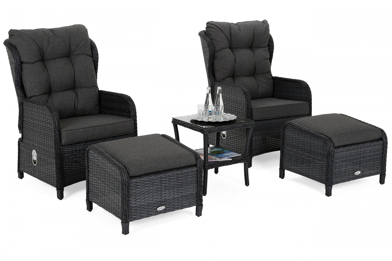 Комплект мебели из техноротанга Sofia Grey