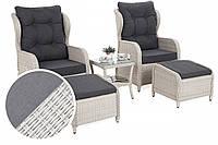 Комплект мебели из техноротанга Sofia White, фото 1