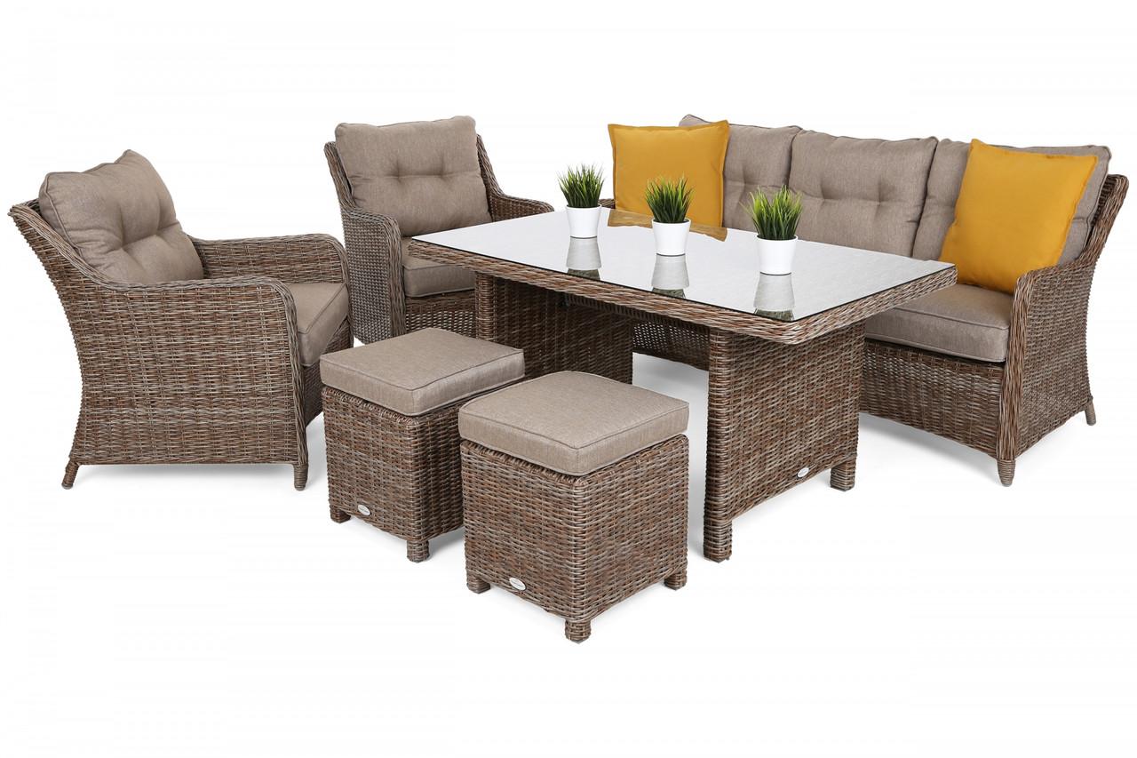 Комплект мебели из техноротанга California Ginger