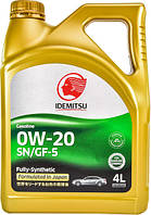 Моторное масло Idemitsu 0W-20 4л