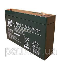 Акумуляторна батарея FAAM FTS 6-7.0, стаціонарна акумуляторна батарея