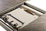 Стол TM-49 серый агат матовое стекло 120/160х80 (бесплатная доставка), фото 4