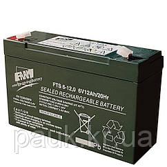 Акумуляторна батарея FAAM FTS 6-12.0, стаціонарна акумуляторна батарея