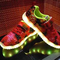 Светящиеся кроссовки на подзарядке