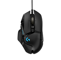 Ігрова миша Logitech G502 Gaming Mouse HERO High Performance Black (910-005470) 11 програмованих кнопок
