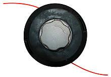 Катушка (шпуля) для мотокосы, триммер с металлической кнопкой d-125мм