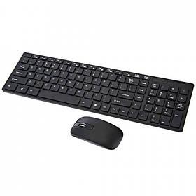 Клавиатура и мышь K-06 беспроводные (Black)   Устройства ввода для компьютера
